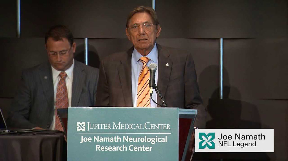 Hyperbaric Oxygen Therapy and Joe Namath's Brain.